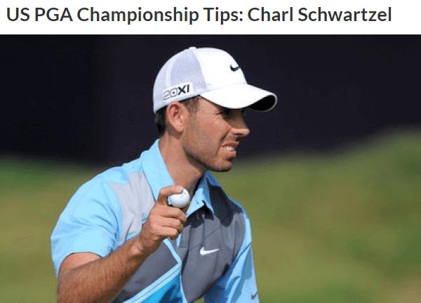 US PGA Championship Tips